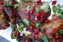 Sticky Pomegranate Chicken Wings Recipe