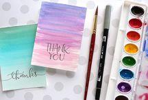 Card Making - Watercolor