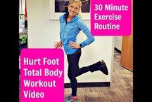 Exercise Broken Foot