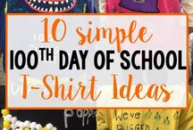 100 Days of School Goodies / This board is a collection of 100 Days of School goodies that range from crafts to treats.