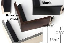 Canvas Floater Frames / Canvas floater frames make your canvas gallery wraps appear as if they are floating inside the frame.
