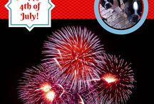 4th of July / June is Dog House Repair Month, so get your dog's house back in shape for summer :-)  It also has National Pet Fire Safety Day and National Mutt Day!  Celebrate your Mutt!  #dogs #dogs4thofjuly #doghouserepairmonth #petfiresafety #nationalmuttday