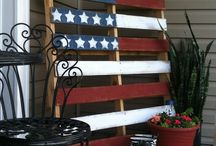 Flag on Pallet Project