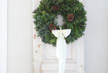 Gamla Dörrar, vit Jul