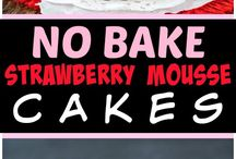 No Bake Desserts / These easy dessert recipes are perfect party food, for a potluck or anytime you need a quick, no bake dessert recipe. No oven required!