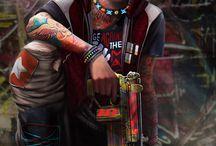 Cyberpunk male