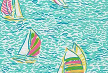 { Inspired by Lilly Pulitzer } / by Savannah Cottrell