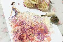 Paint dresses