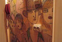 Pereti pictati by LaviQ / Nu doar panza reprezinta un suport pentru pictura. Poti crea adevarate opere de arta pe zidurile din casa, dau o oarecare magie intregii incaperiai, stai cu ochii lipiti ore intregi fara sa te plictisesti. Fascinant... www.laviq.ro www.facebook.com/pages/LaviQ/206808016028814
