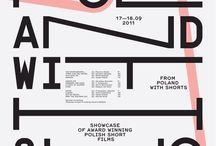 Type / Typography/ Posters/ Advertisement Campaign