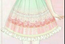ANIME Dress/Fashion/Outift