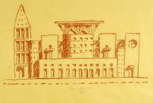 drawings Ando Graves Aalto Kahn Corbusier
