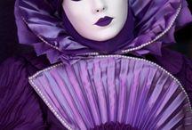 карнавал, маски