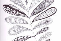 Tangle art / zentangles / doodles