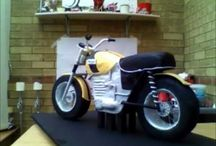 Motorcicle cake