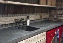 Kitchen of workshop