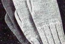 sjaals en handschoenen