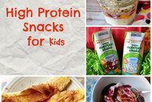 High Protein Snacks for Sam