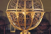Armillary Sphere & astro-globes, compass , sci - instruments .......