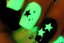30 Creative ideas for Glowing Nail Paint / Nail Pains, Glowing Nail Paint, #Nail Art,