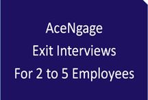 AceNgage Exit Interviews - 5 Employees / Conversational telephonic exit interviews are conducted by trained behavioural psychologists who are unbiased, non-judgmental and objective. The focus is on capturing the trigger for leaving and enable organizations to identify the root cause. The exit interview reports are easy to read, analyze and interpret, and also include recommendations and next steps.  #HR #AceNgage #ExitInterviews