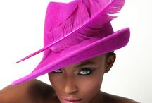 millinery hot pink