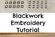 Embroidery Blackwork