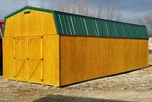 In Wood Or Metal And Sizes From 8x8 To 16x40 By Amish Made Buildings