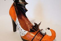 Halloween - Witches Boots / by CyndiMac's Nick Knacks