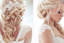 Here Comes the Bride / Bridal hair styles we love