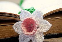 Цветы вязаные крючком, спицами