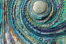 Amazing Textile Art / The world of textile artistry is so fascinating to me.  It is just amazing what can be done with fabric scraps, threads, buttons and found items!