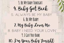 playlist baby shower