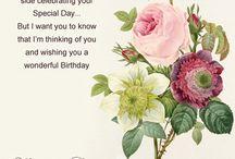 Verjaardagen