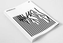 noir et blanc graphisme / Noir et Blanc en design graphic