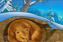 winter-ζωα σε χειμερια ναρκη