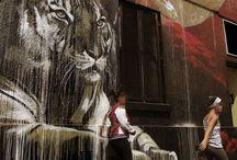 зарисовки домов(граффити)
