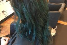 Capelli Color Verde Acqua