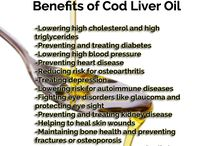 Health Benefits of Fish Oil / Here you will find the benefits of our Extra Virgin Cod Liver Oil and Ratfish Liver Oil. There are many!