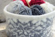 strikk og hekle