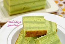 Pandan Kaya Cake/Gula Malaka