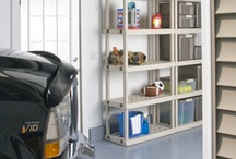 Garage & Basement Storage / Sterilite products that help you organize your Garage and Basement and other utility space.