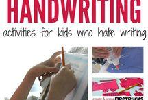 Writting activities