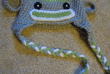 sock monkey hats / by Beatrice K.