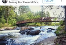 Rushing River, Ontario Parks
