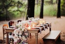 Flower table runners