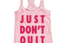 Fashion: Fitness & Workout / Clothes for working out, spinning and running
