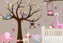 Nursery Decal Jungle wall