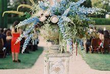 LILIRENA. Niebieskie kwiaty