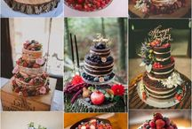Naked wedding cake multi flavours